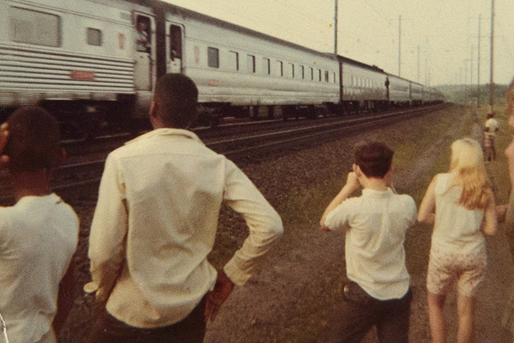 RFK Funeral Train: The People's View