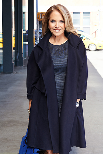 Katie Couric, image by Andrew Eccles