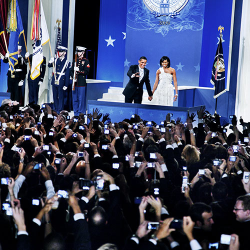 Winning the White House: From Press Prints to Selfies