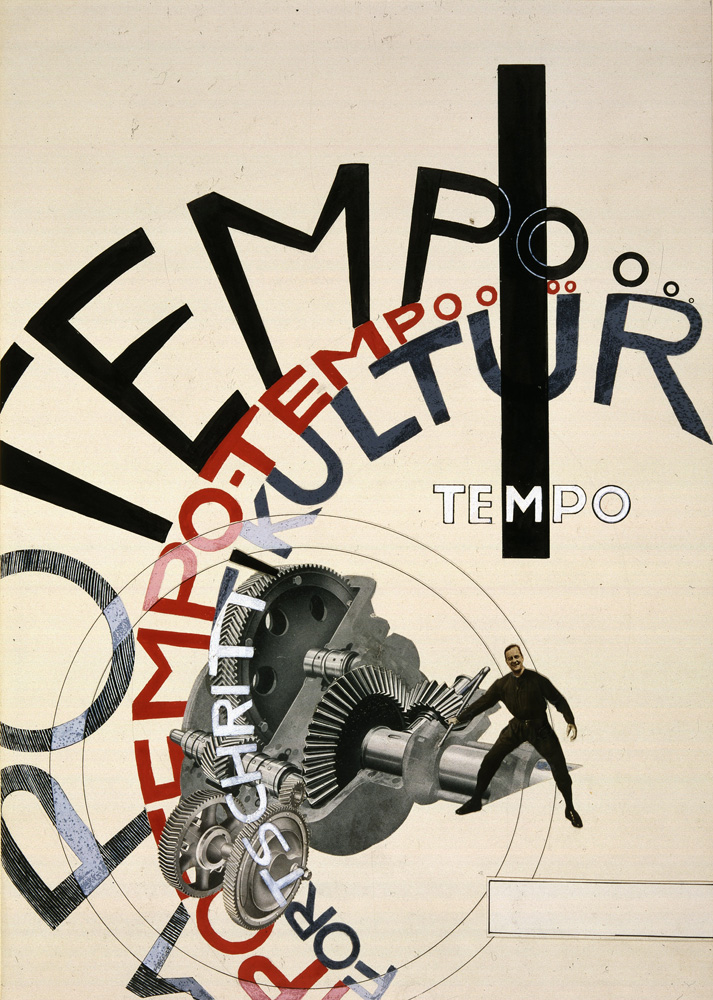 Tempo Tempo The Bauhaus Photomontages Of Marianne Brandt