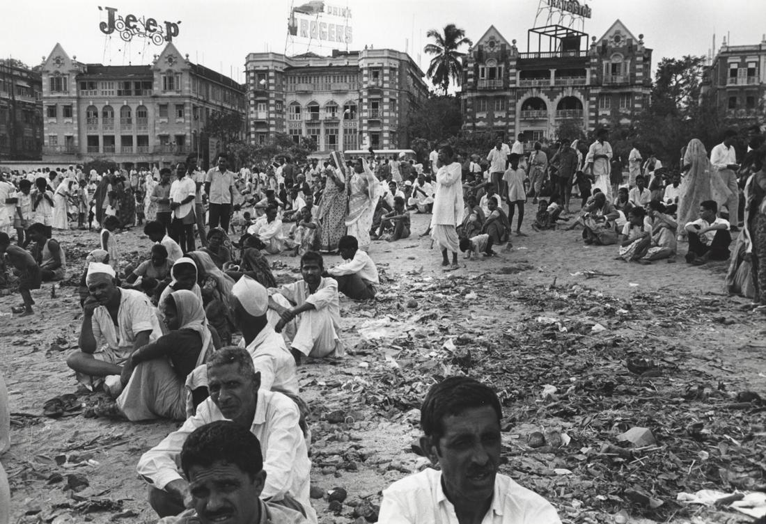 Bhupendra Karia, Population Crisis B.8.74.70, Bombay, early 1970's