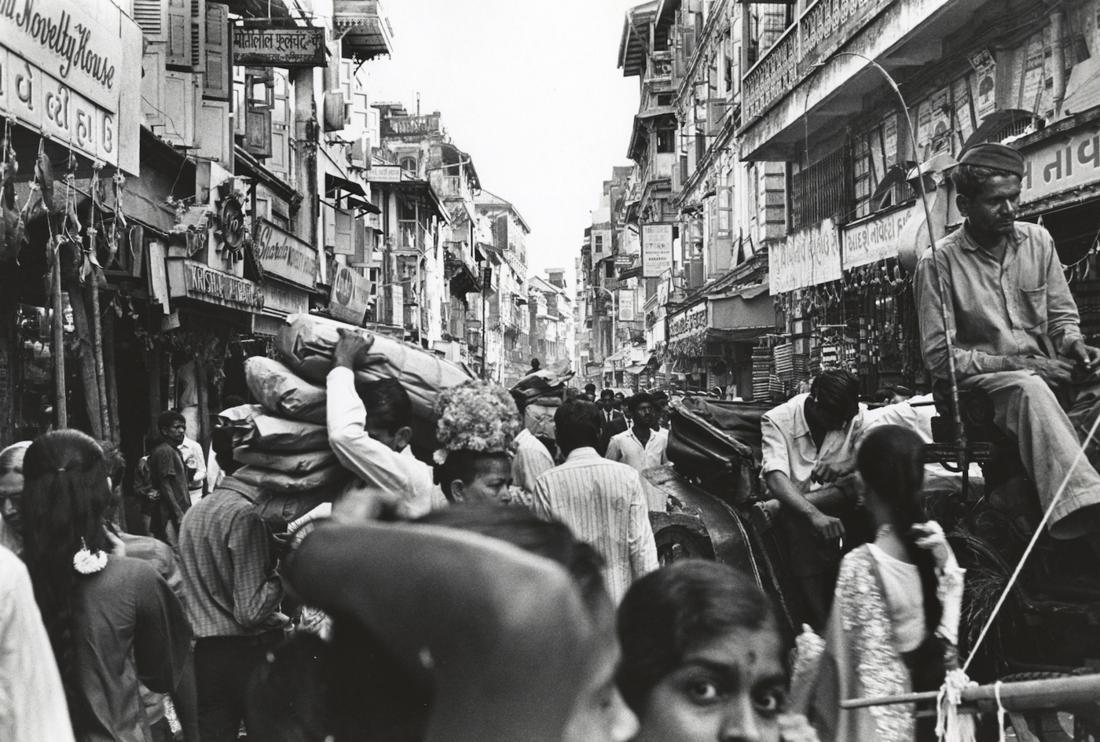 Bhupendra Karia, Population Crisis B.96.70, Bombay, early 1970's