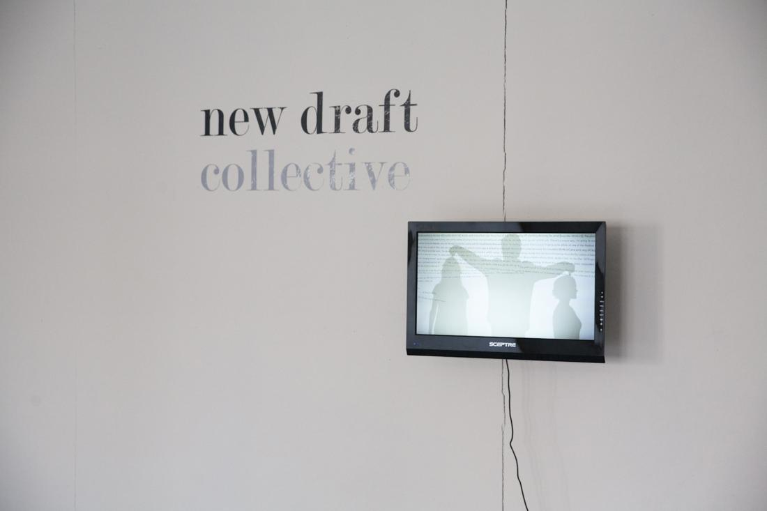New Draft Collective installation, LMCC Swing Space
