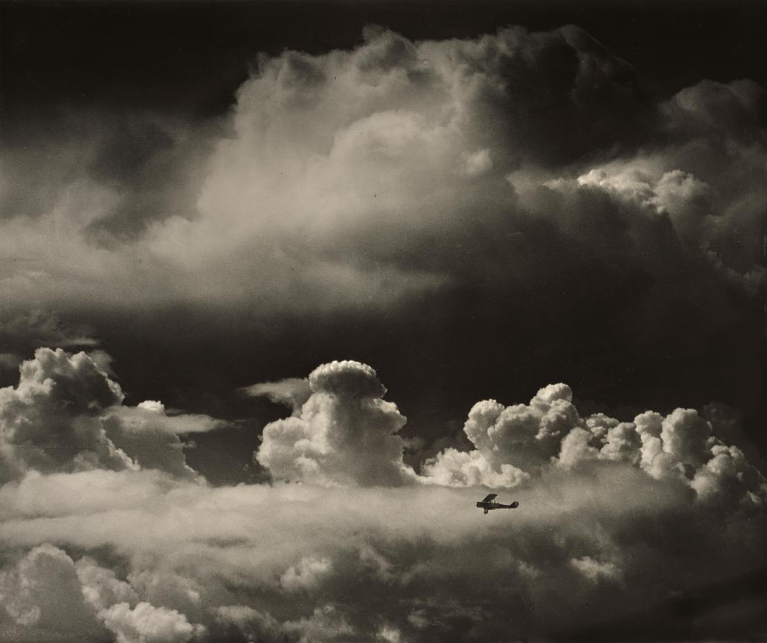 Alfred G. Buckham, Cloud Turrets, c. 1920, courtesy of the Scottish National Portrait Gallery.