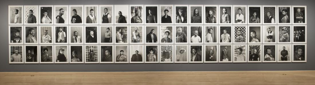 Installation View - Faces and Phases (Brooklyn Museum)