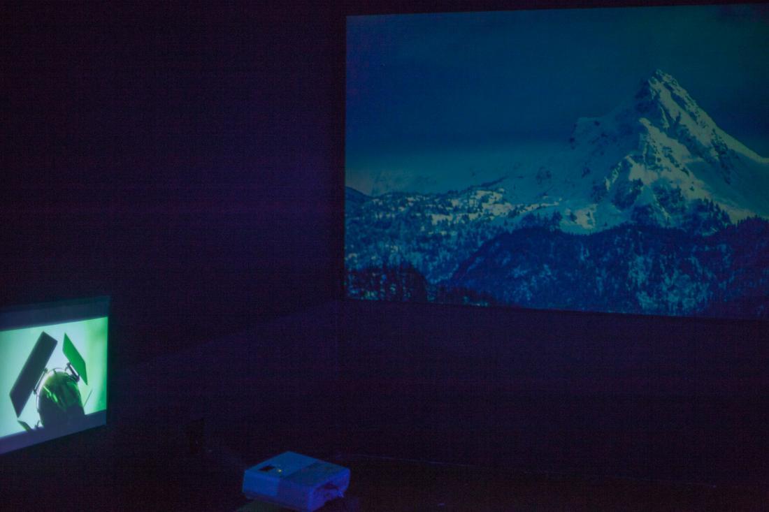 Installation view of Bridget De Gersigny's ICP-Bard MFA 2013 solo thesis exhibition