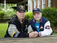 Jess T. Dugan, Hank, 76, and Samm, 67, North Little Rock, AR, 2015.