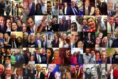 Various photographers, [Selfies with presidential candidates], 2015-16, International Center of Photography.