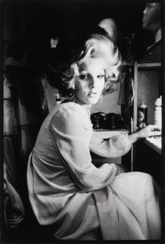 "Anthony Friedkin, Michelle, Female Impersonator, ""C'est La Vie"" Club, North Hollywood, 1972. International Center of Photography, Gift of Mary and Dan Solomon, 2011 (2011.69.1) © Anthony Friedkin"